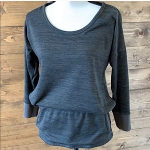 ATHLETA | Banded Crew Neck Sweatshirt
